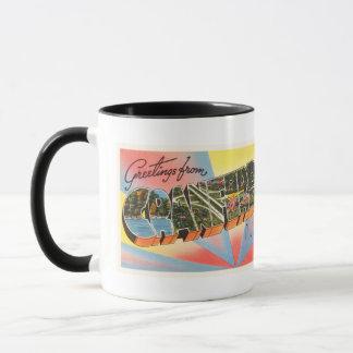 Cranford New Jersey NJ Vintage Travel Postcard- Mug