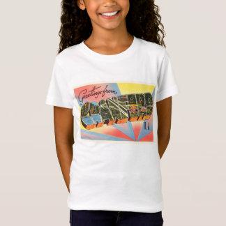 Cranford New Jersey NJ Vintage Travel Postcard- T-Shirt