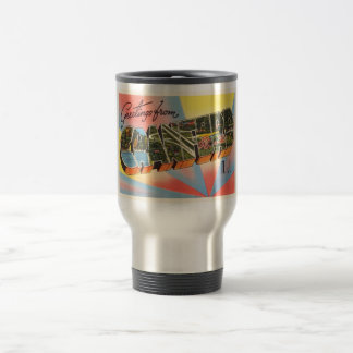 Cranford New Jersey NJ Vintage Travel Postcard- Travel Mug