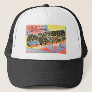 Cranford New Jersey NJ Vintage Travel Postcard- Trucker Hat