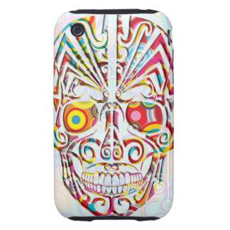Cranial, bone, skeleton, skull, head, tough iPhone 3 covers