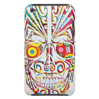 Cranial, bone, skeleton, skull, head, iPod Case-Mate case