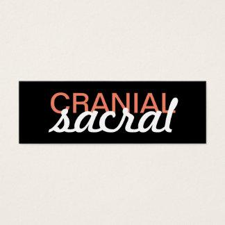 cranial sacral massage punch card