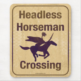Cranially Challenged Equestrian Mouse Pad