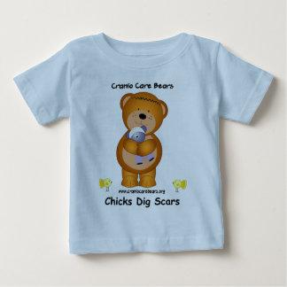 Cranio Care Bears - Chicks Dig Scars Baby T-Shirt