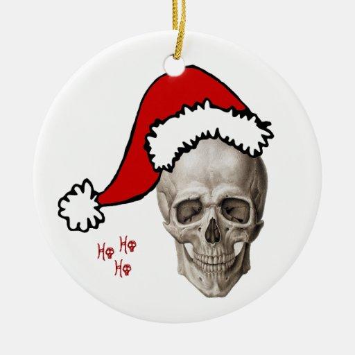 Cranium Christmas (2010) Double-Sided Ceramic Round Christmas Ornament