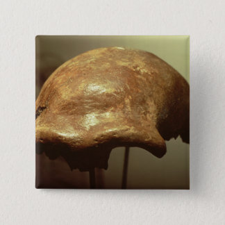 Cranium of a Neanderthal Button