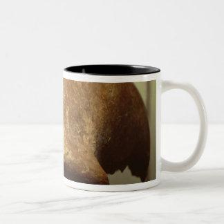 Cranium of a Neanderthal Two-Tone Coffee Mug