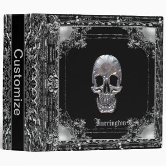 Cranium Sound Ghost Personalized 3 Ring Binder