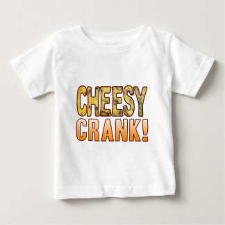 Crank Blue Cheesy Baby T-Shirt