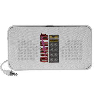 CRANK IT UP iPod SPEAKERS