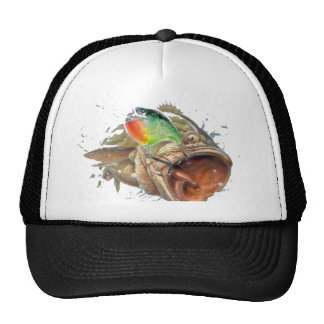 Crankbait bass hats