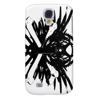 Crankset and Crossbones - black Samsung S4 Case