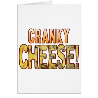 Cranky Blue Cheese Card