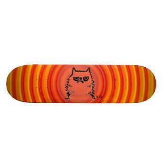 Cranky Cat Skateboards, Funny Skateboard Deck