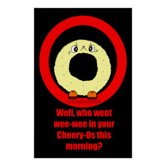 Cranky Cheery O Morning Poster