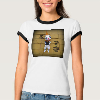 Cranky Clown Wearable Art Doll T-Shirt