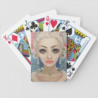Cranky Fairy Original Art Bicycle Playing Cards