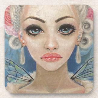 Cranky Fairy Original Art Drink Coaster