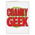 Cranky Geek Cards