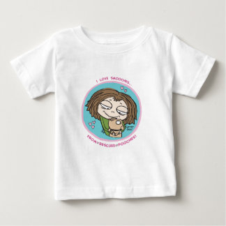 Cranky Girl- I love smooches from rescued pooches! Baby T-Shirt