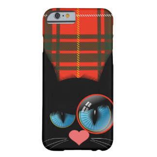 Cranky McCat the Scottish Black Cat Barely There iPhone 6 Case
