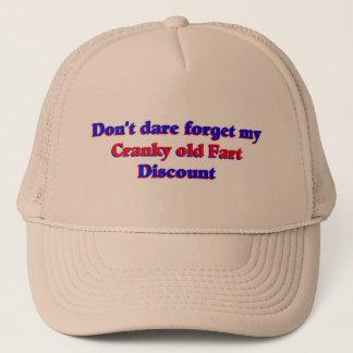 Cranky old fart discount trucker hat