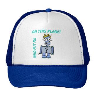 Cranky RoBoT Trucker Hat