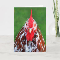 Cranky Rooster Miss You Card