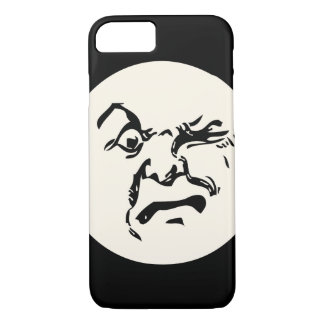 Cranky Vintage Moon iPhone 8/7 Case