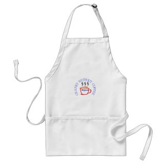 Cranky without Coffee Adult Apron