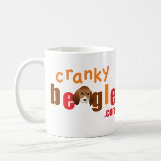 CrankyBeagle Logo Mug