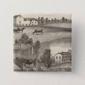 Cranmoor Farm, Toms River, NJ Pinback Button