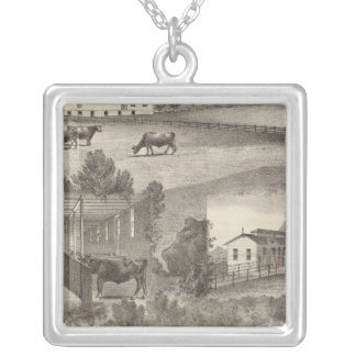 Cranmoor Farm, Toms River, NJ Silver Plated Necklace