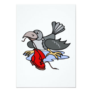 Cranny Crow Card