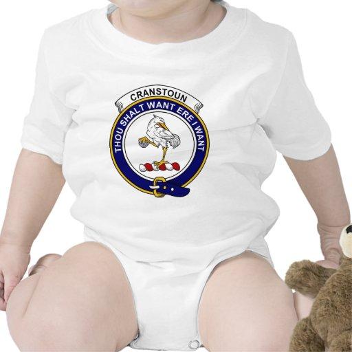 Cranstoun Clan Badge Shirts