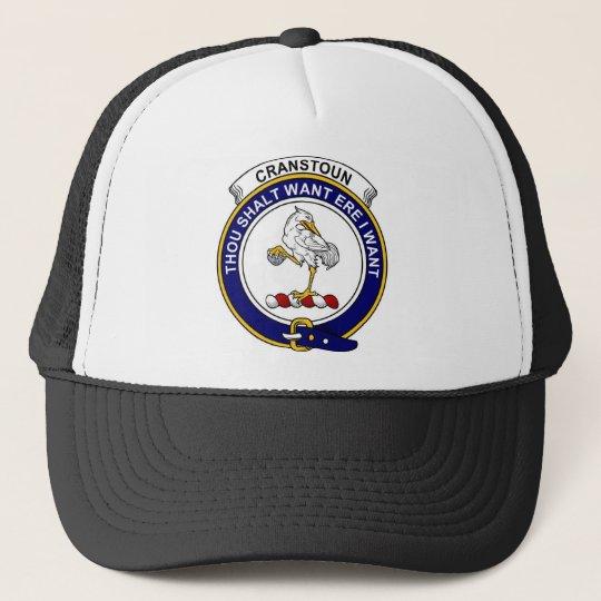 Cranstoun Clan Badge Trucker Hat