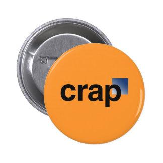 Crap Logo Button