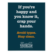 Crap Your Hands Poster
