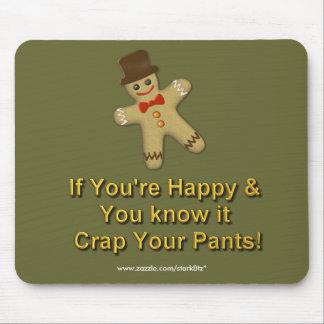 crap your pants mouse pad
