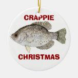CRAPPIE CHRISTMAS CHRISTMAS TREE ORNAMENTS