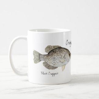 Crappie Coffee Classic White Coffee Mug