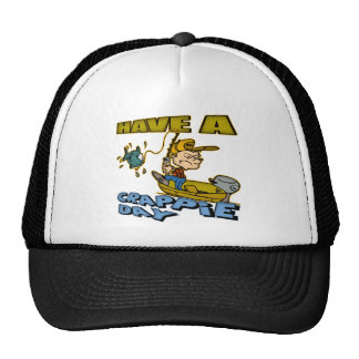 Crappie Day Fishing T-shirts and Gifts Trucker Hat