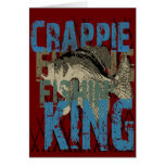 Crappie Fishin' King Cards
