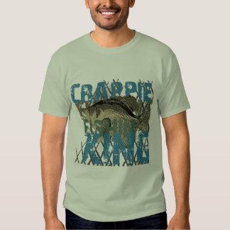Crappie Fishin' King T Shirt