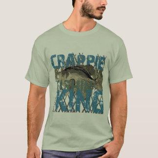 Crappie Fishin' King T-Shirt
