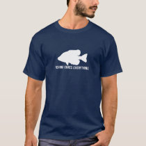 "Crappie ""Fishing Cures Everything"" T-Shirt"