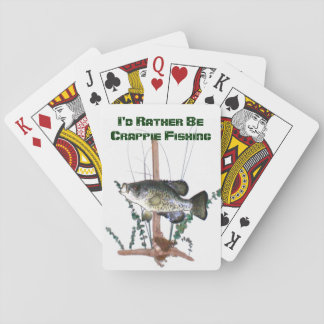 Crappie Fishing Playing Cards