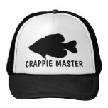Crappie Fishing template Hats