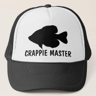 Crappie Fishing template Trucker Hat